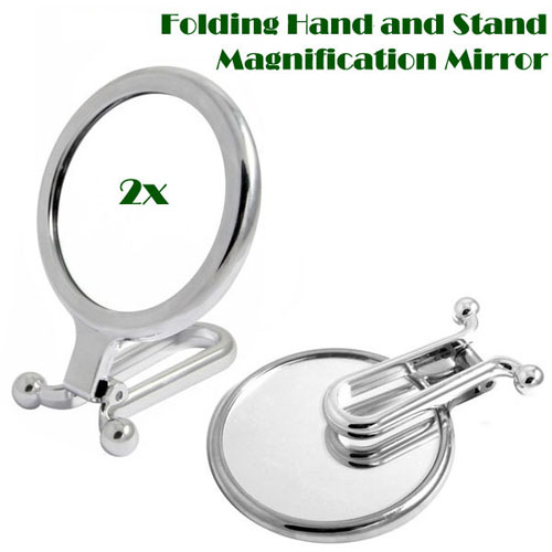 Soyoung Folding Hand Mirror with 2x magnifying glass 소영 폴더 2배 확대거울 미니손거울(소)
