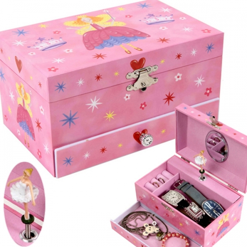 Magic Princess Pinky musical jewelry box 요술공주 핑키 오르골 보석함