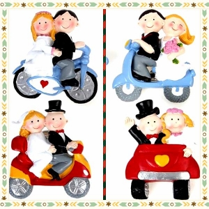 Wedding Couple Figurine Fridge Magnets 웨딩 커플 냉장고자석