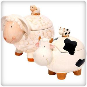 Ceramic Cow Lamb Sheep Animal Toilet Paper Holder 양 젖소 동물 도자기 티슈케이스